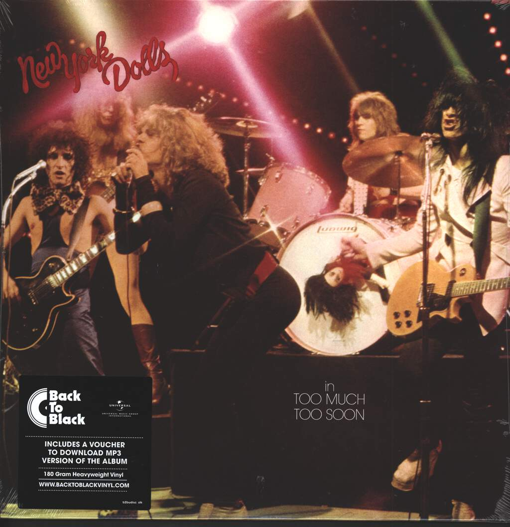 New York Dolls: Too Much Too Soon, LP (Vinyl)