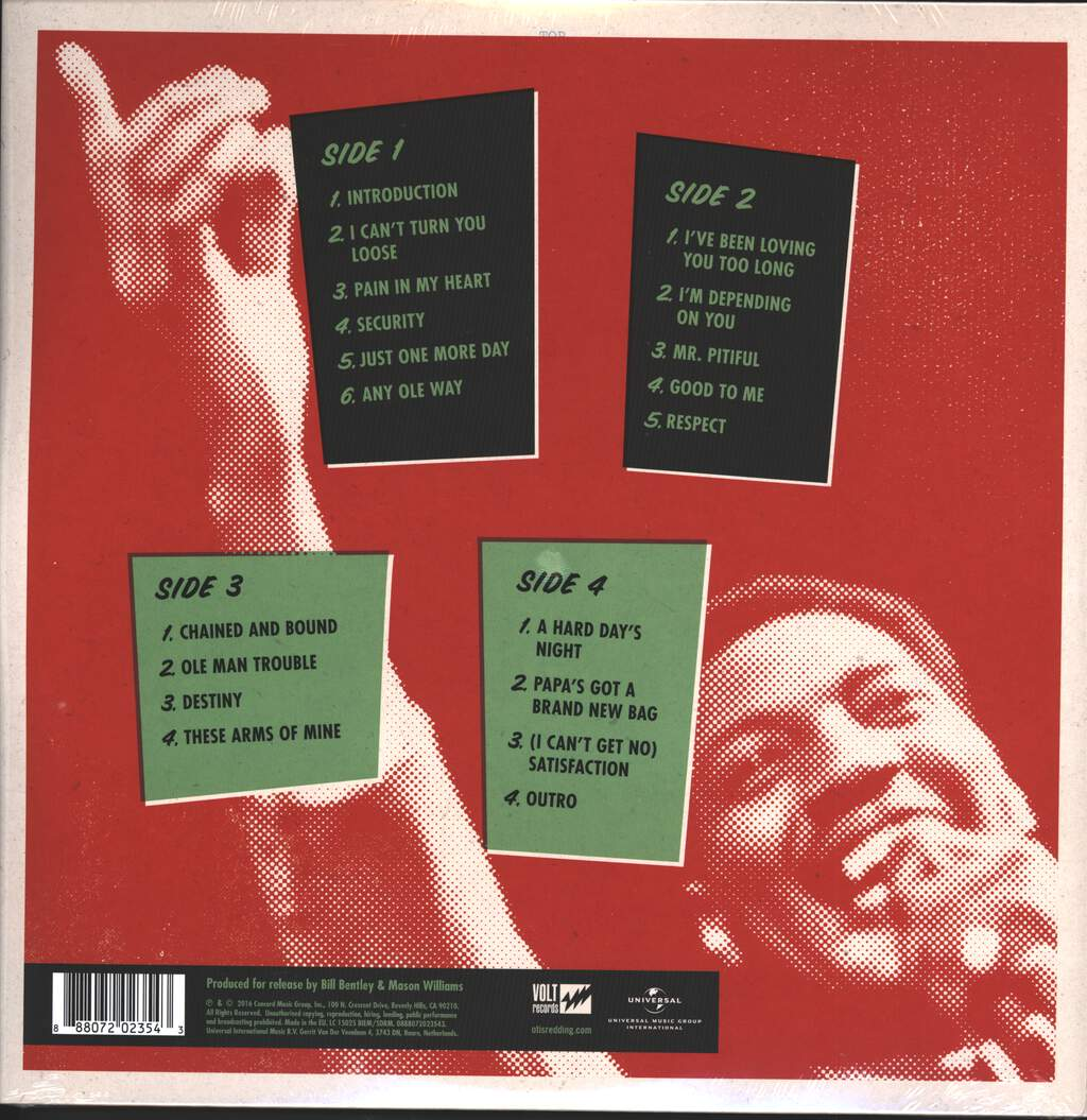 Otis Redding: Live At The Whisky A Go Go, LP (Vinyl)