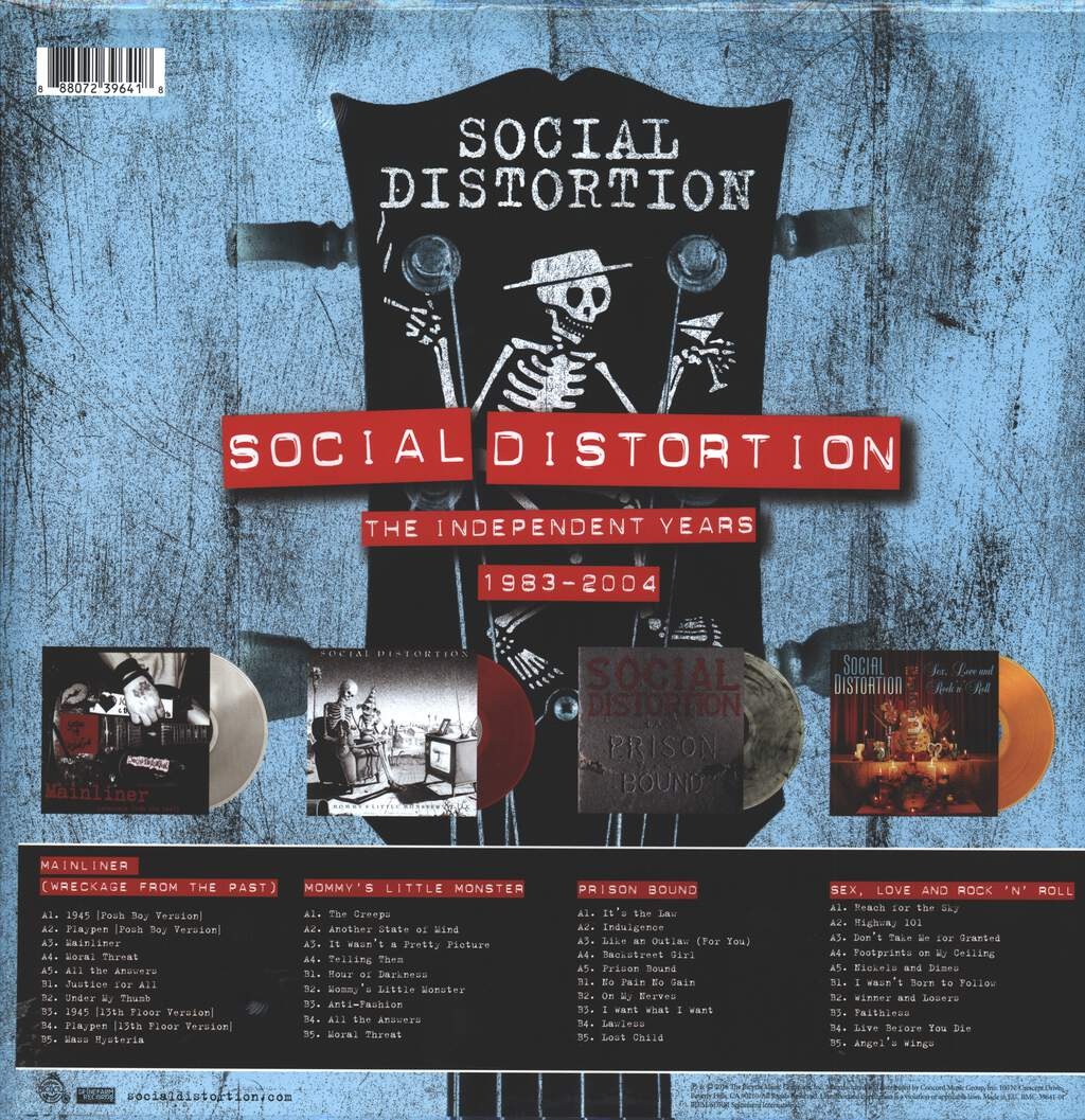 Social Distortion: The Independent Years: 1983-2004, LP (Vinyl)