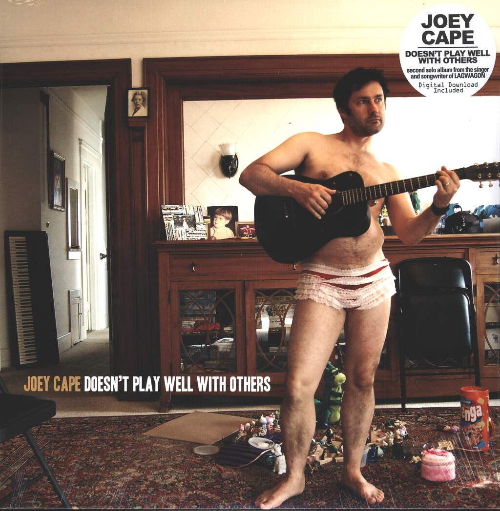 Joey Cape: Doesn't Play Well With Others, LP (Vinyl)