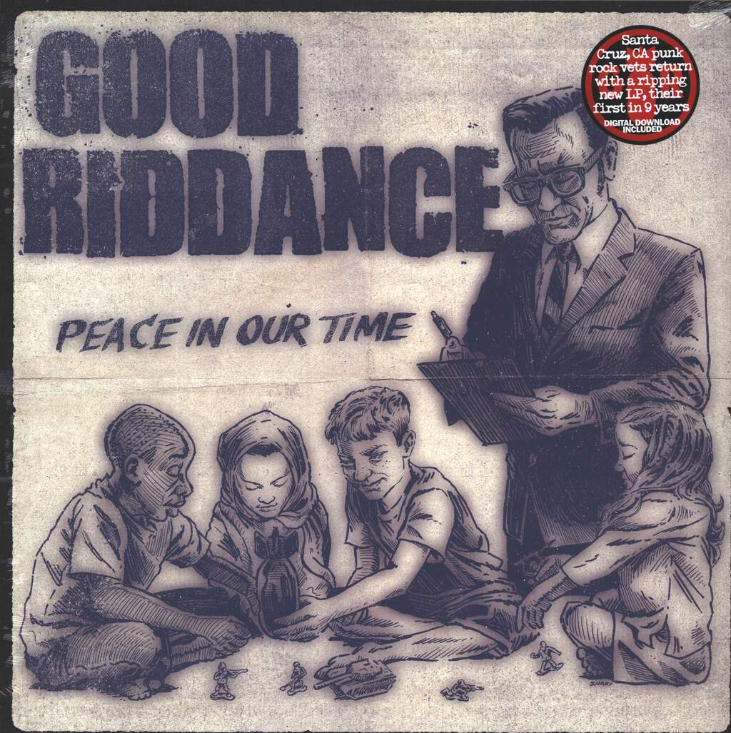 Good Riddance: Peace In Our Time, LP (Vinyl)