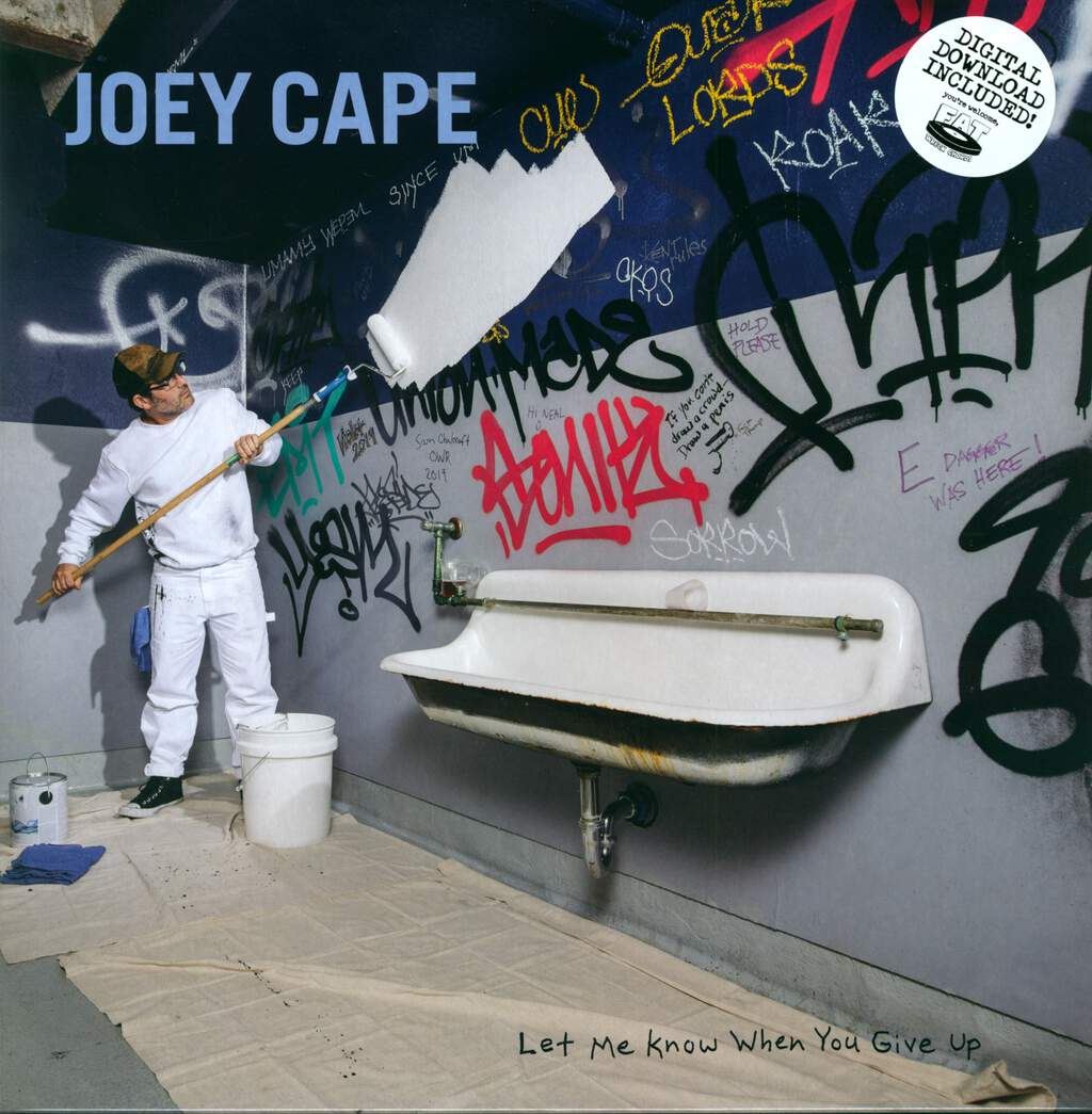 Joey Cape: Let Me Know When You Give Up, LP (Vinyl)