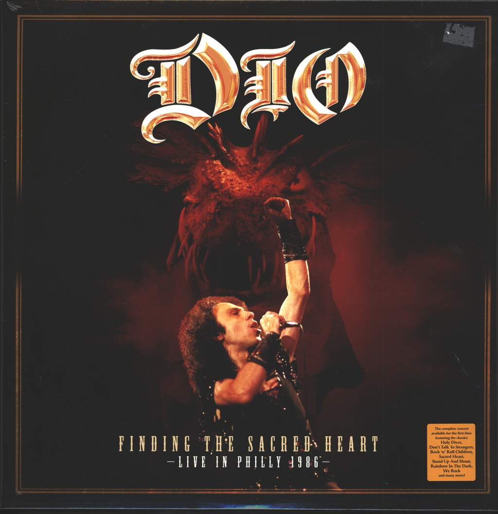 Dio: Finding The Sacred Heart – Live In Philly 1986, LP (Vinyl)