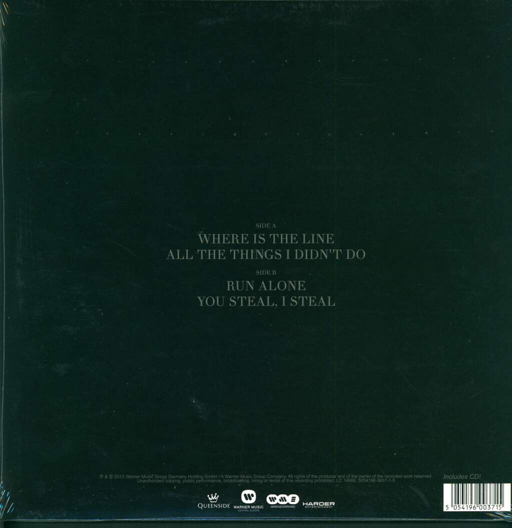 "The Majority Says: Between Love And Simple Friends, 12"" Maxi Single (Vinyl)"