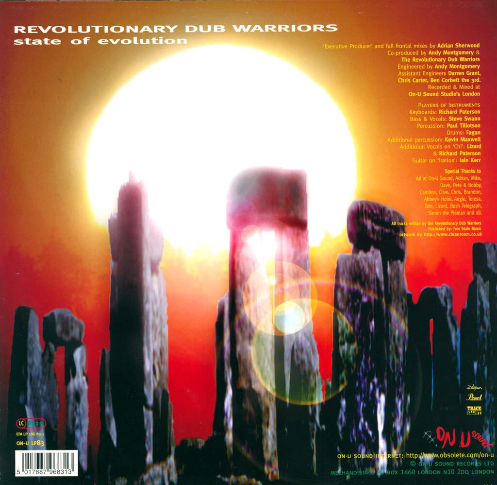 Revolutionary Dub Warriors: State Of Evolution, LP (Vinyl)