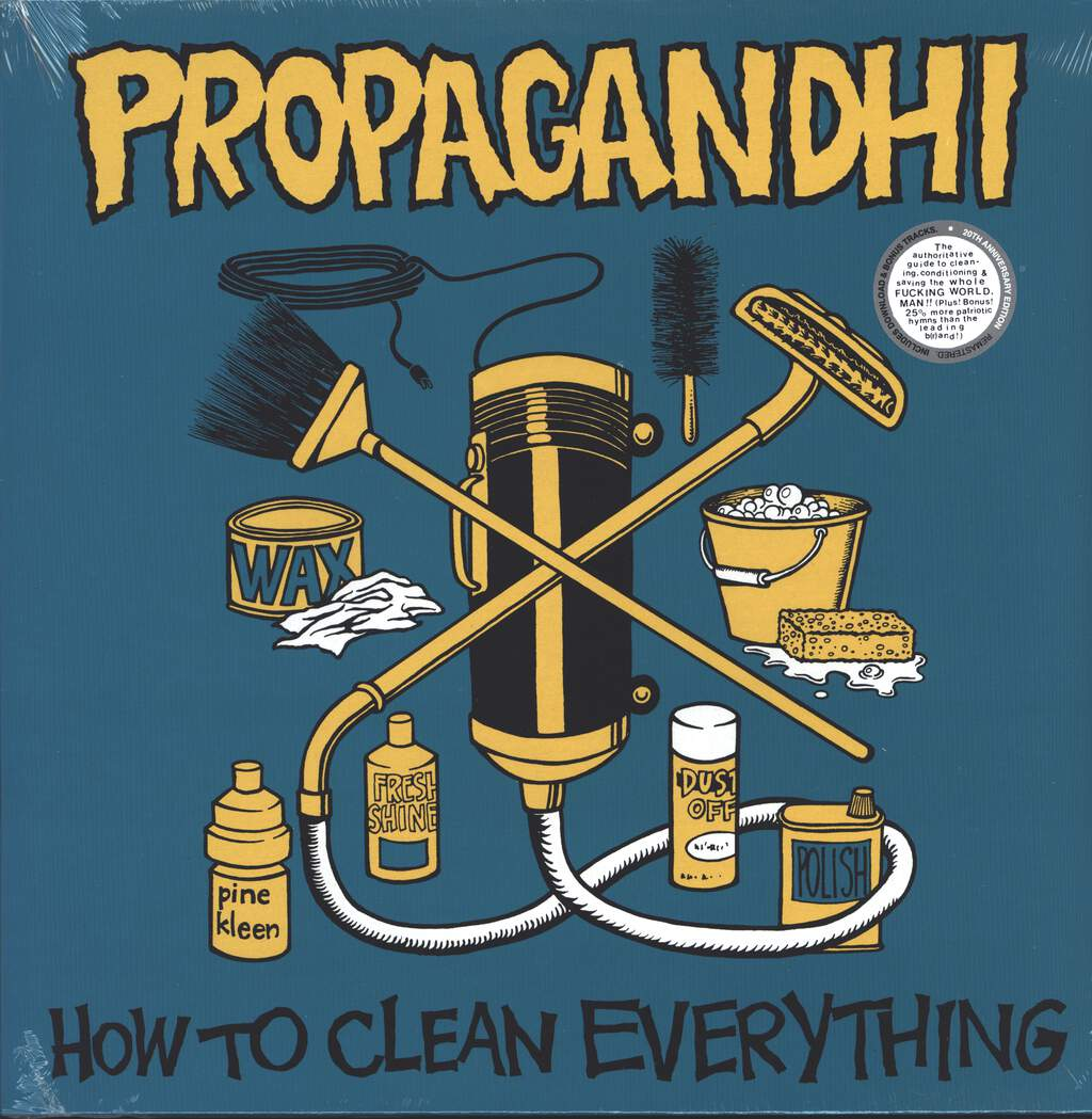 Propagandhi: How To Clean Everything, LP (Vinyl)