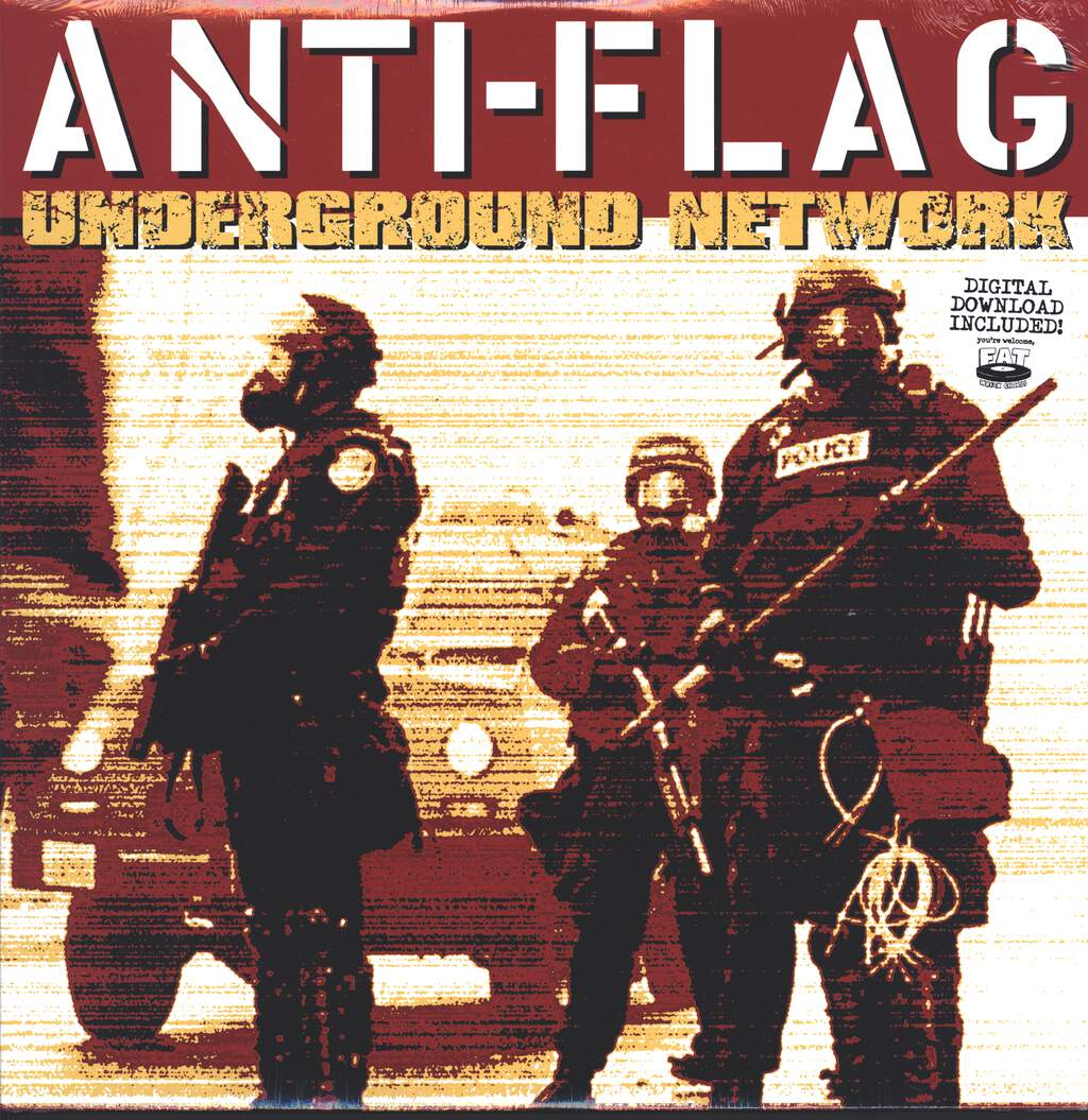Anti-Flag: Underground Network, LP (Vinyl)