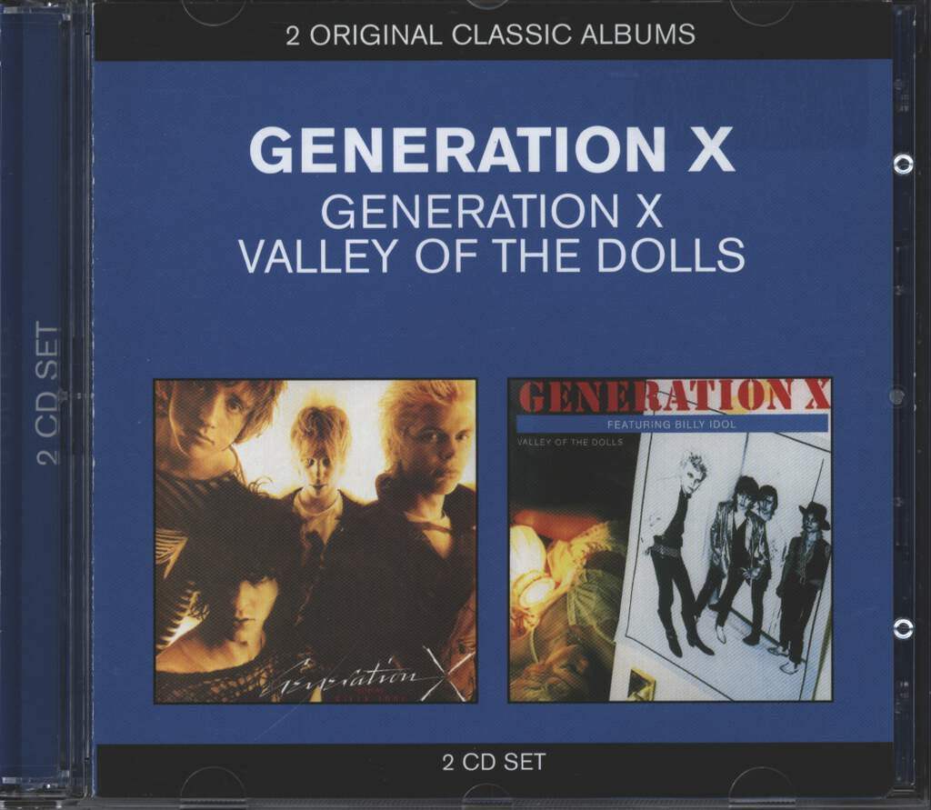 Generation X: Generation X / Valley Of The Dolls, CD