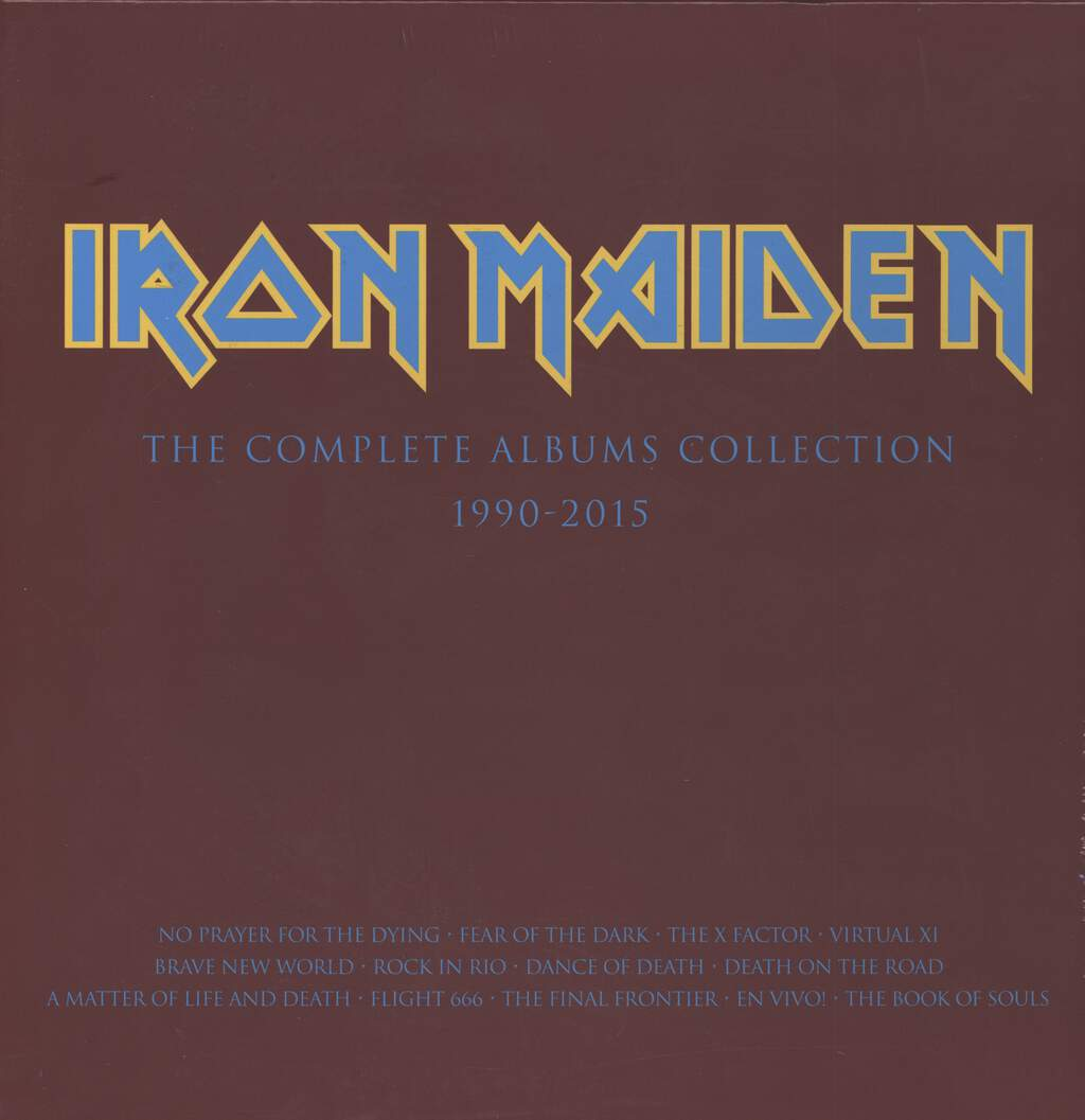 Iron Maiden: The Complete Albums Collection 1990-2015, 3×LP (Vinyl)