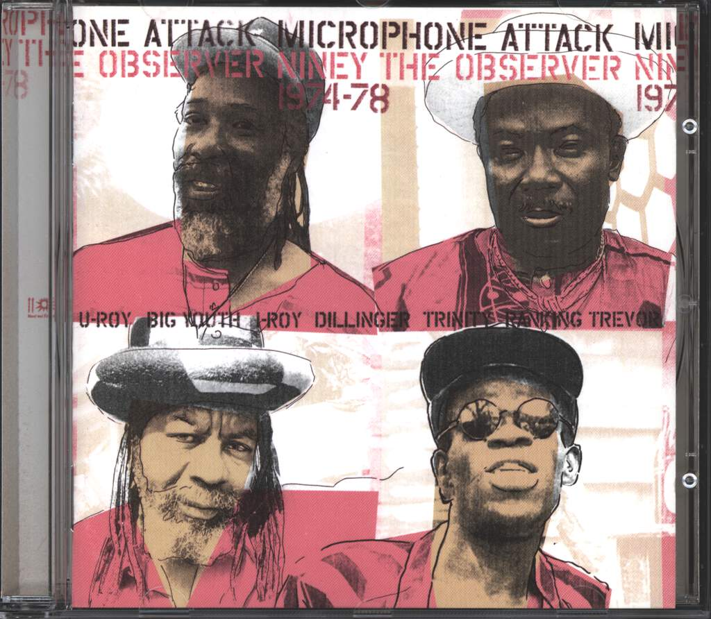 Niney the Observer: Microphone Attack 1974-78, CD
