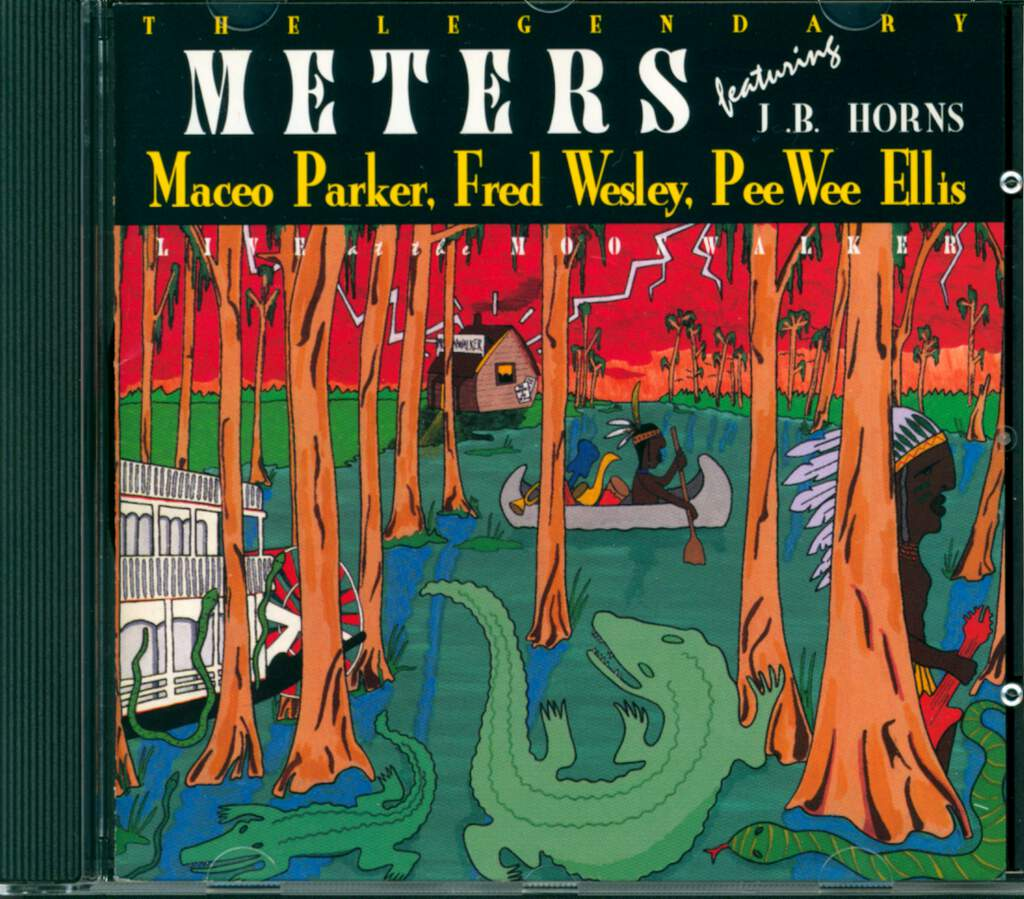 The Meters: Live At The Moonwalker, CD