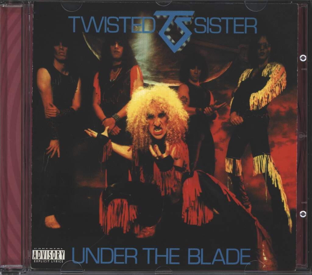 Twisted Sister: Under The Blade (UK Mix), CD