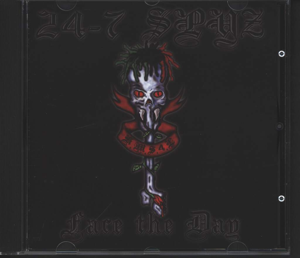 24-7 Spyz: Face The Day, CD