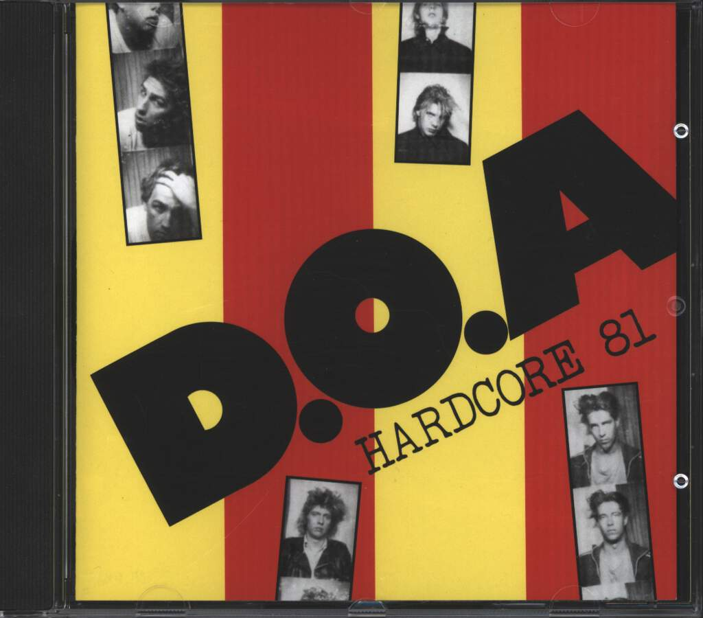 D.O.A.: Hardcore 81, CD