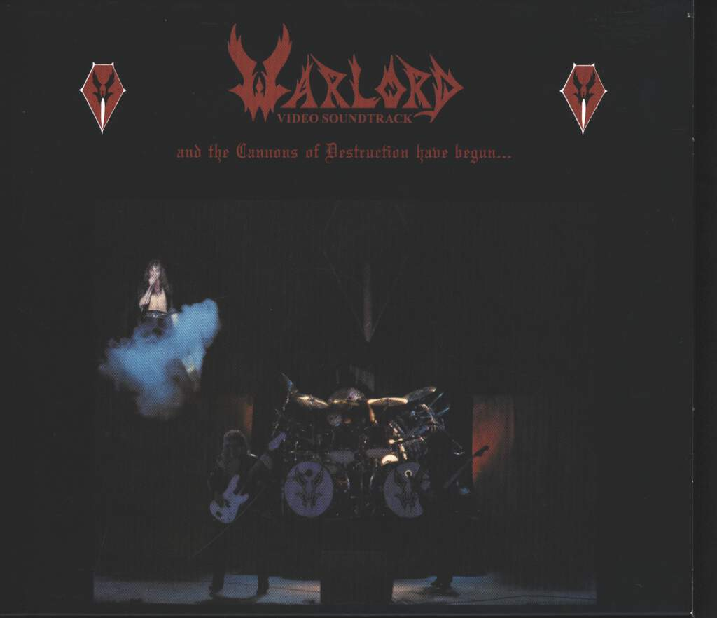 Warlord: And The Cannons Of Destruction Have Begun..., 2×CD