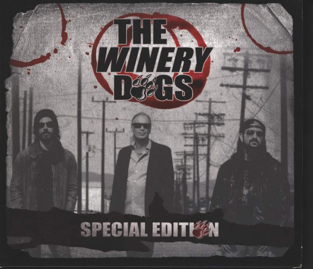 The Winery Dogs: The Winery Dogs, 2×CD