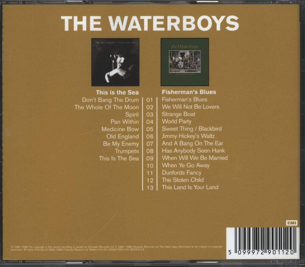The Waterboys: This Is The Sea / Fisherman's Blues, 2×CD