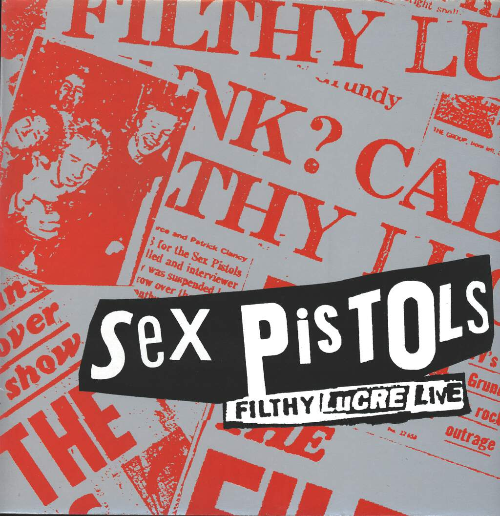 Sex Pistols: Filthy Lucre Live, LP (Vinyl)