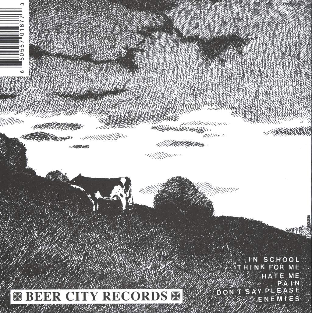 "Die Kreuzen: Cows And Beer, 7"" Single (Vinyl)"