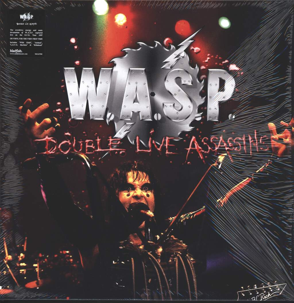 W.A.S.P.: Double Live Assassins, 2×LP (Vinyl)