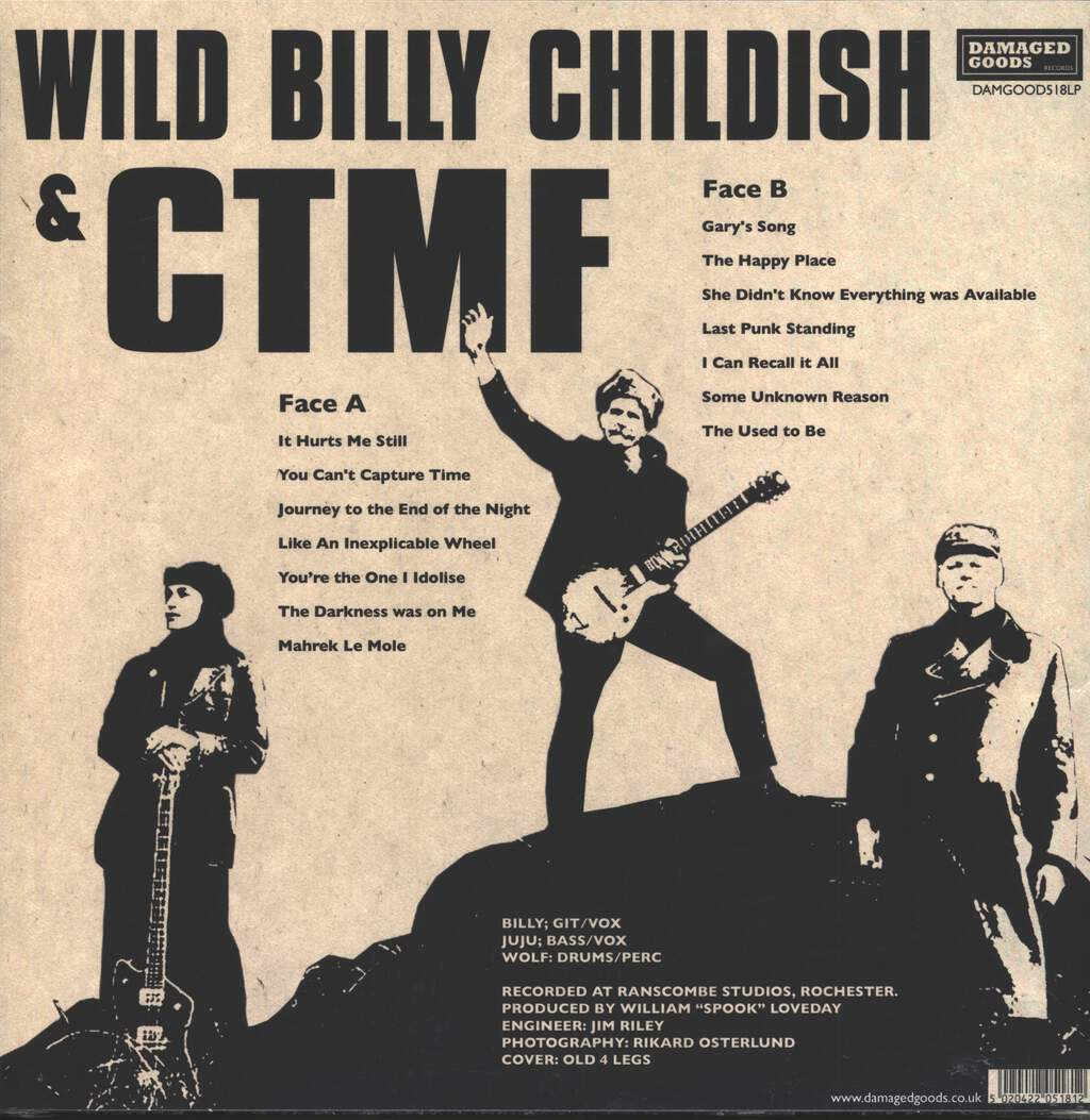 Wild Billy Childish & CTMF: Last Punk Standing...and other Hits, LP (Vinyl)