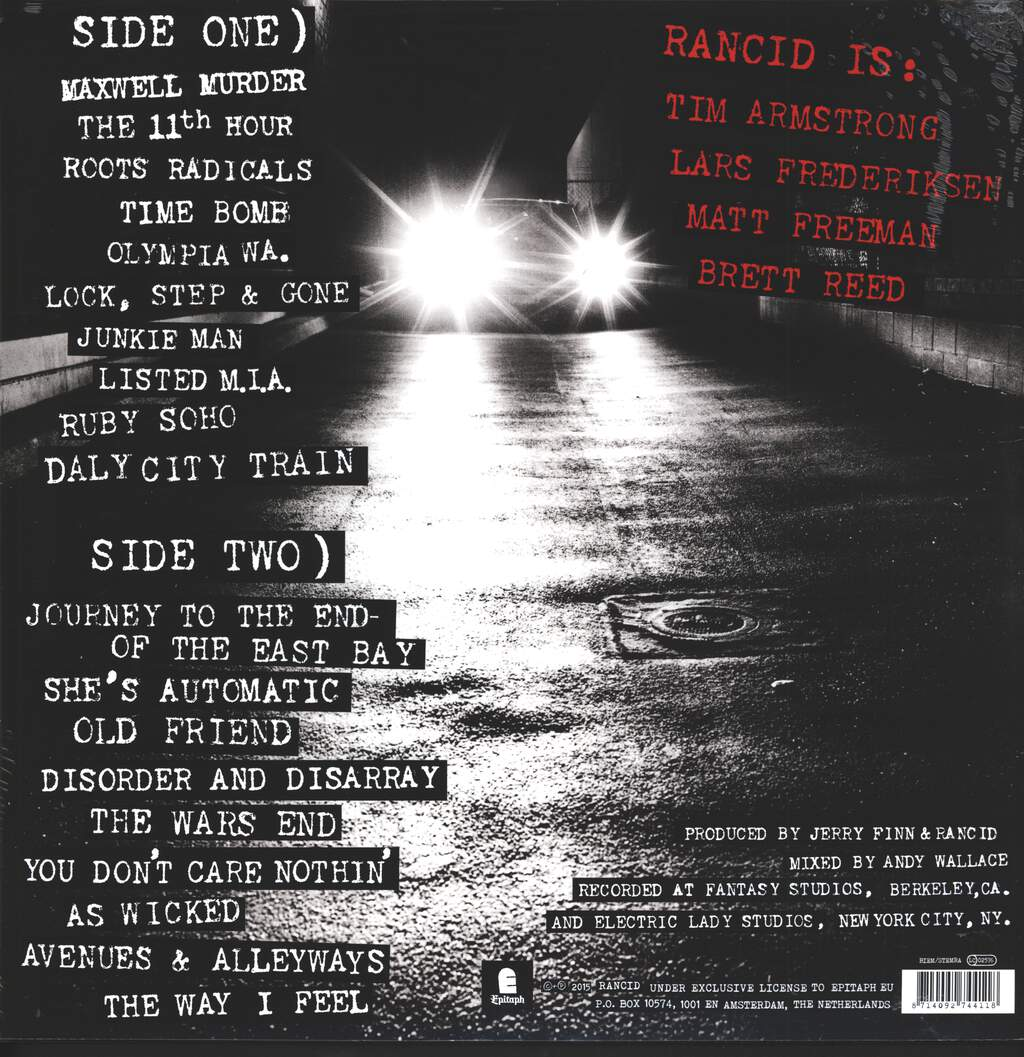 Rancid: ...And Out Come The Wolves, LP (Vinyl)