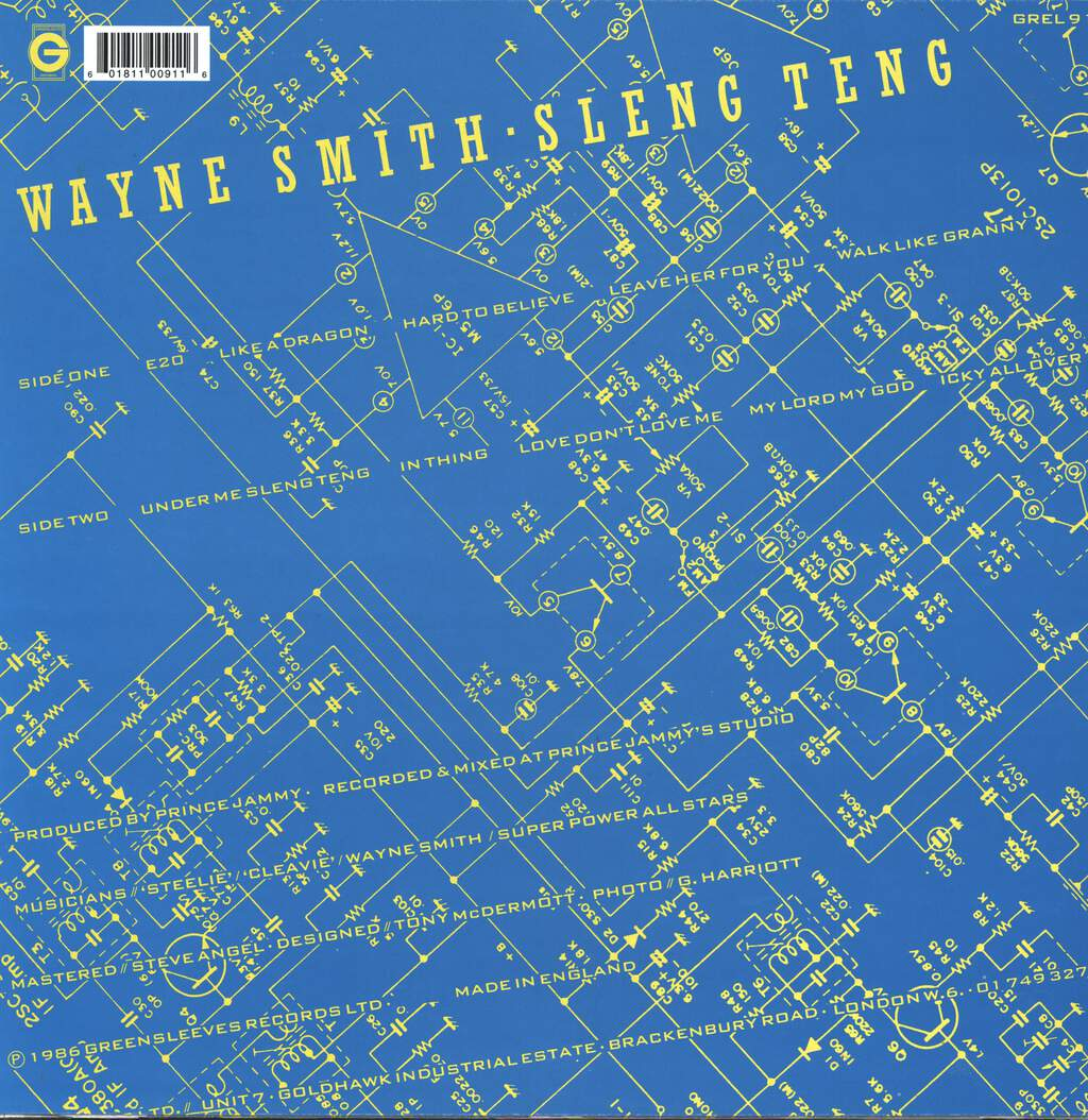 Wayne Smith: Sleng Teng, LP (Vinyl)