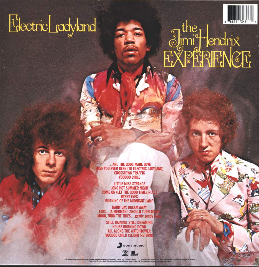 The Jimi Hendrix Experience: Electric Ladyland, 2×LP (Vinyl)