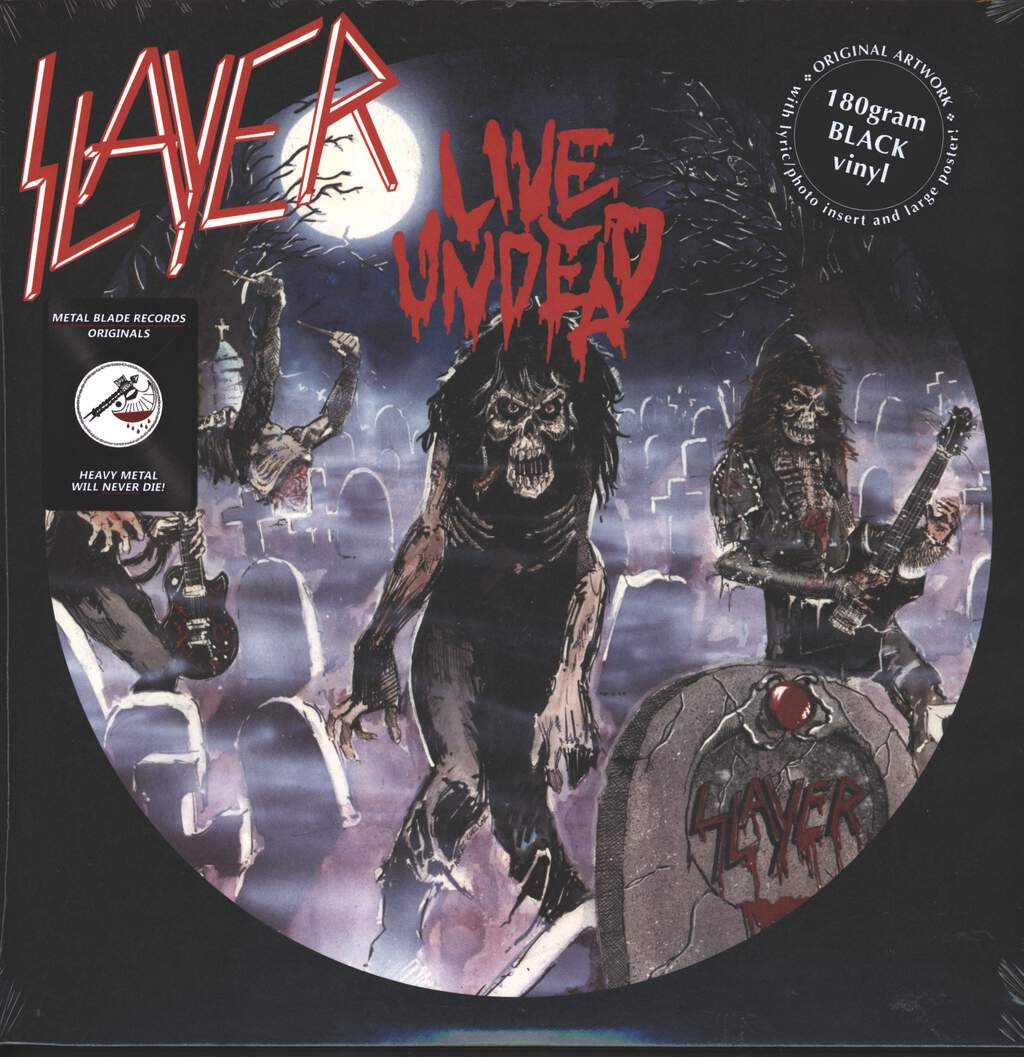 Slayer: Live Undead, LP (Vinyl)