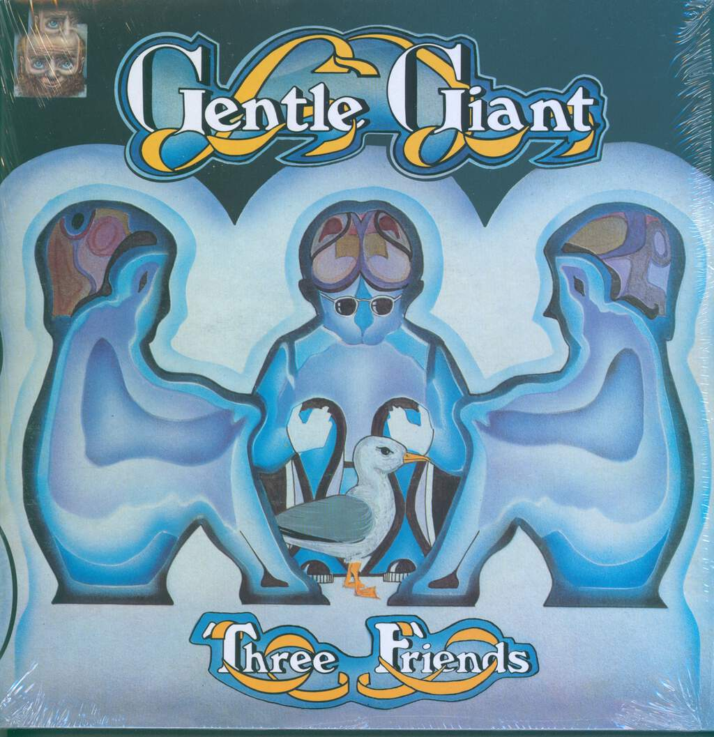 Gentle Giant: Three Friends, LP (Vinyl)