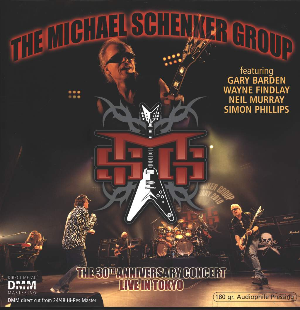 The Michael Schenker Group: The 30th Anniversary Concert - Live In Tokyo, 2×LP (Vinyl)