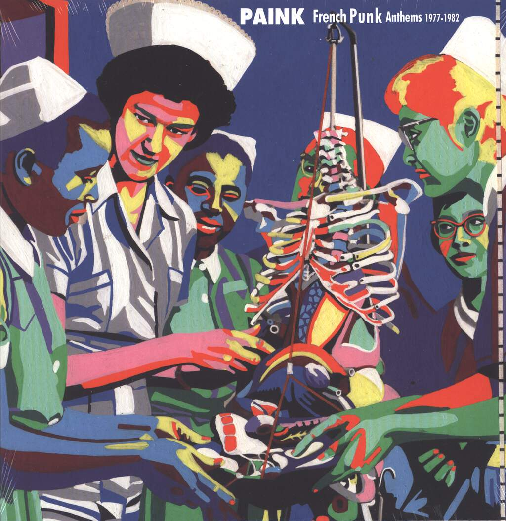 Various: Paink (French Punk Anthems 1977​-​1982), LP (Vinyl)