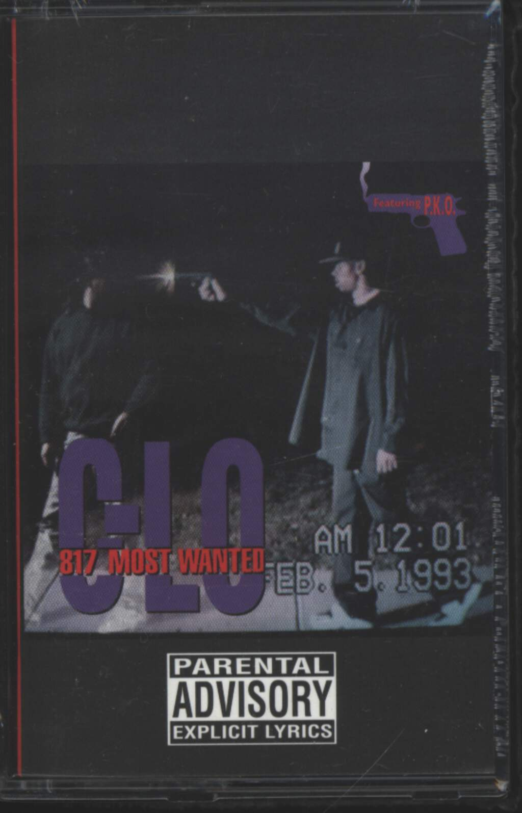 C-Lo: 817 Most Wanted, Tape