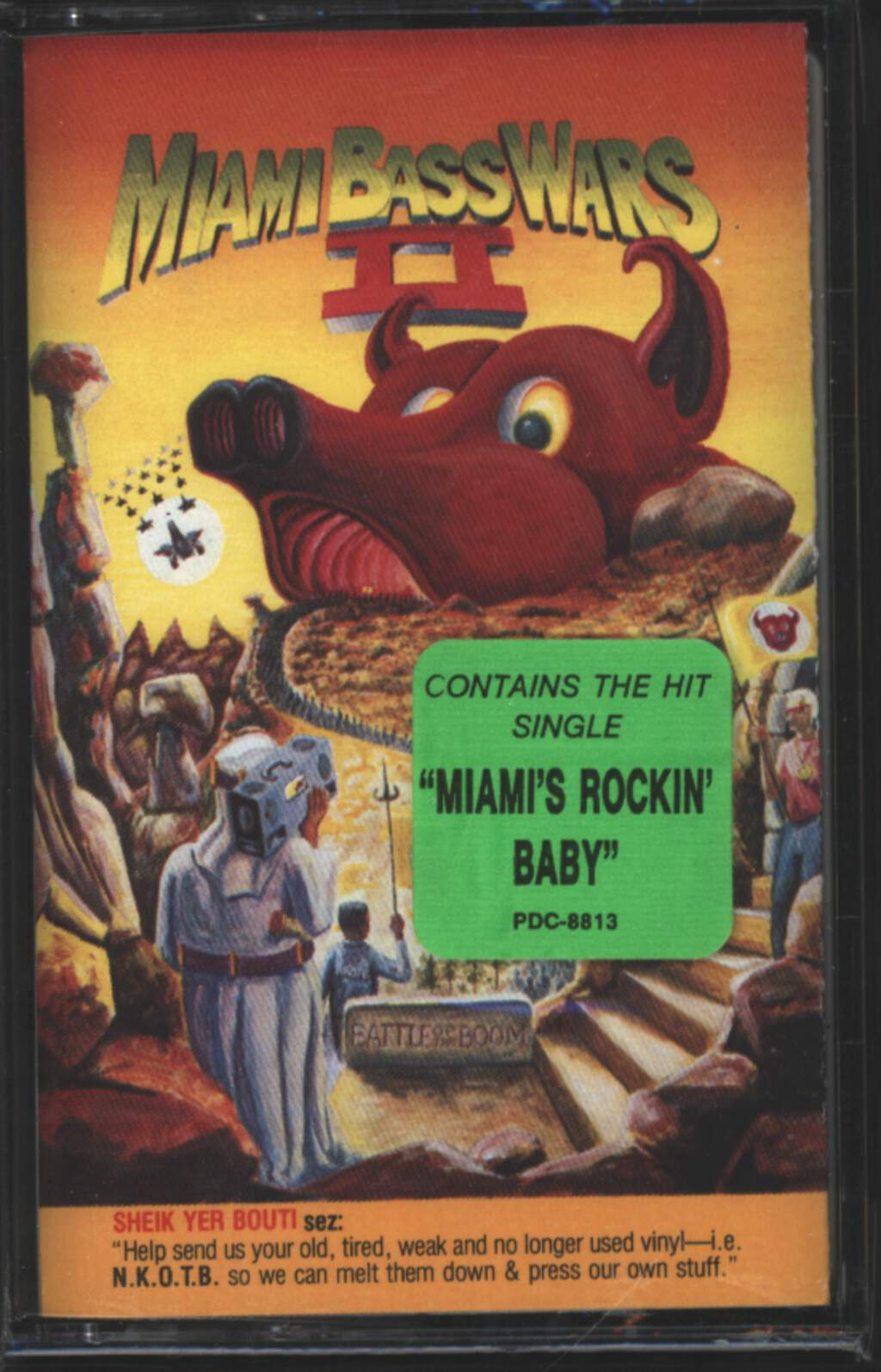 Various: Miami Bass Wars II - Battle Of The Boom, Tape