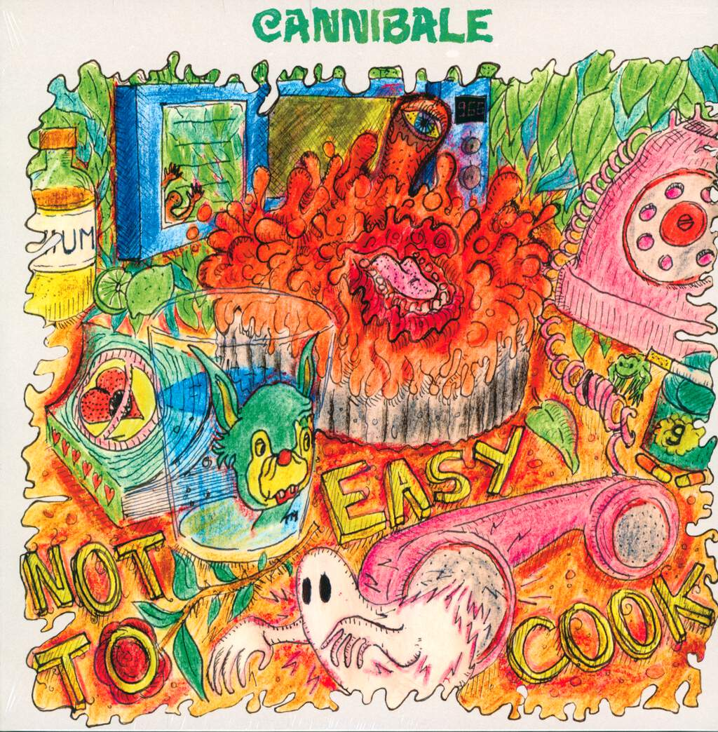 Cannibale: Not Easy To Cook, LP (Vinyl)