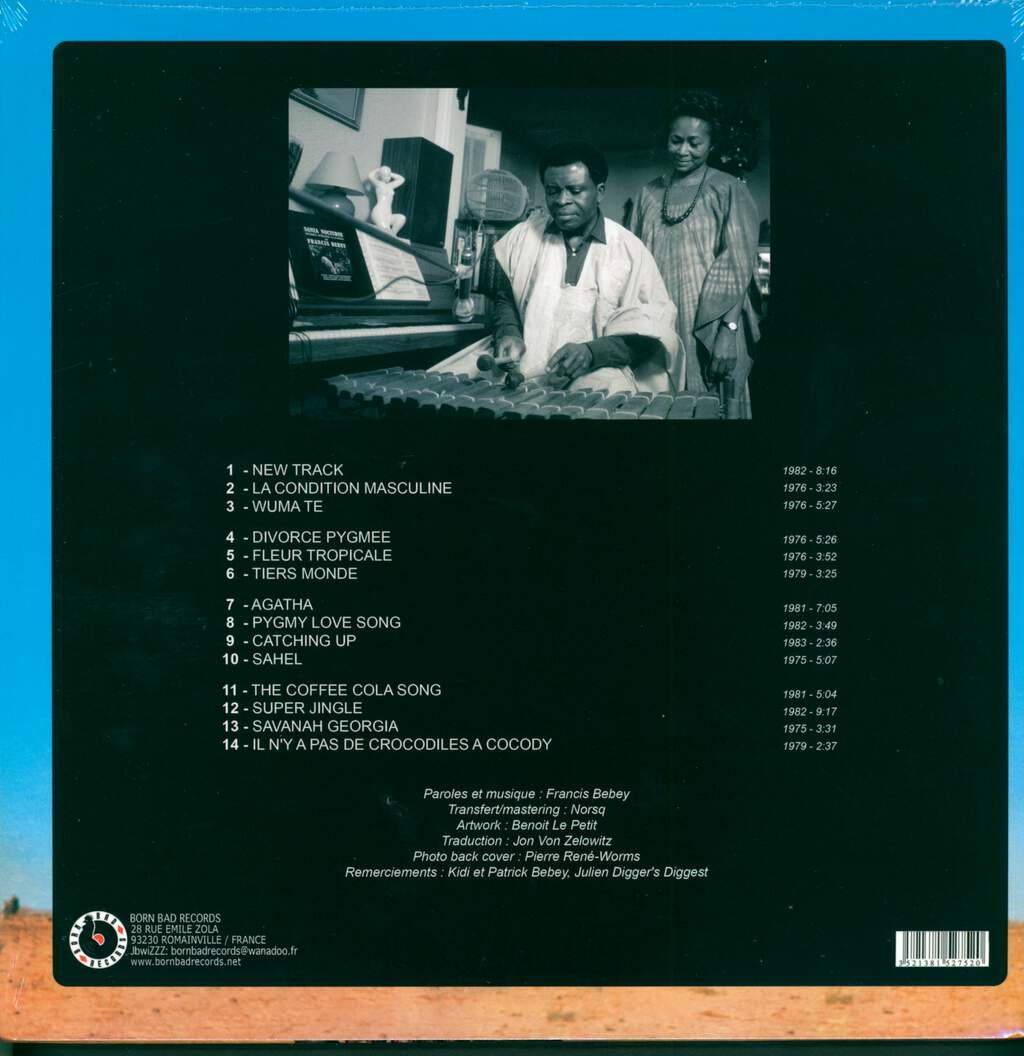 Francis Bebey: African Electronic Music 1975-1982, 2×LP (Vinyl)
