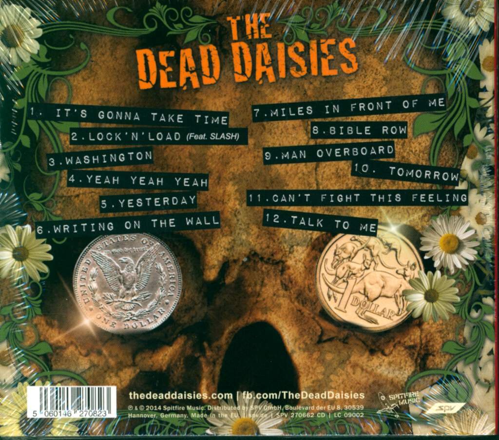 The Dead Daisies: The Dead Daisies, CD