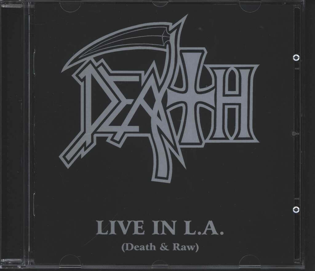Death: Live In L.A. (Death & Raw), CD