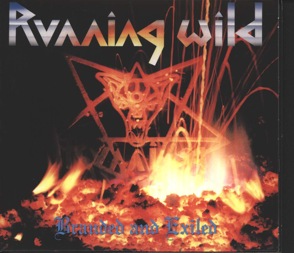 Running Wild: Branded And Exiled, CD
