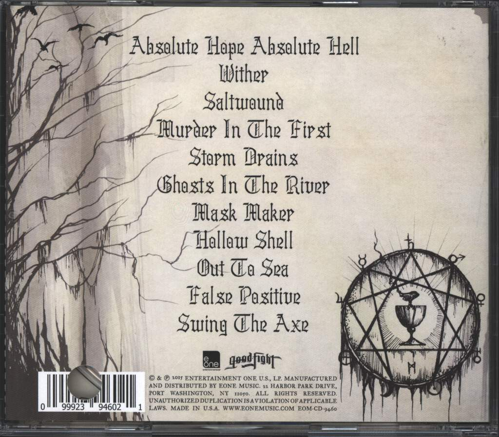 Fit For An Autopsy: Absolute Hope Absolute Hell, CD