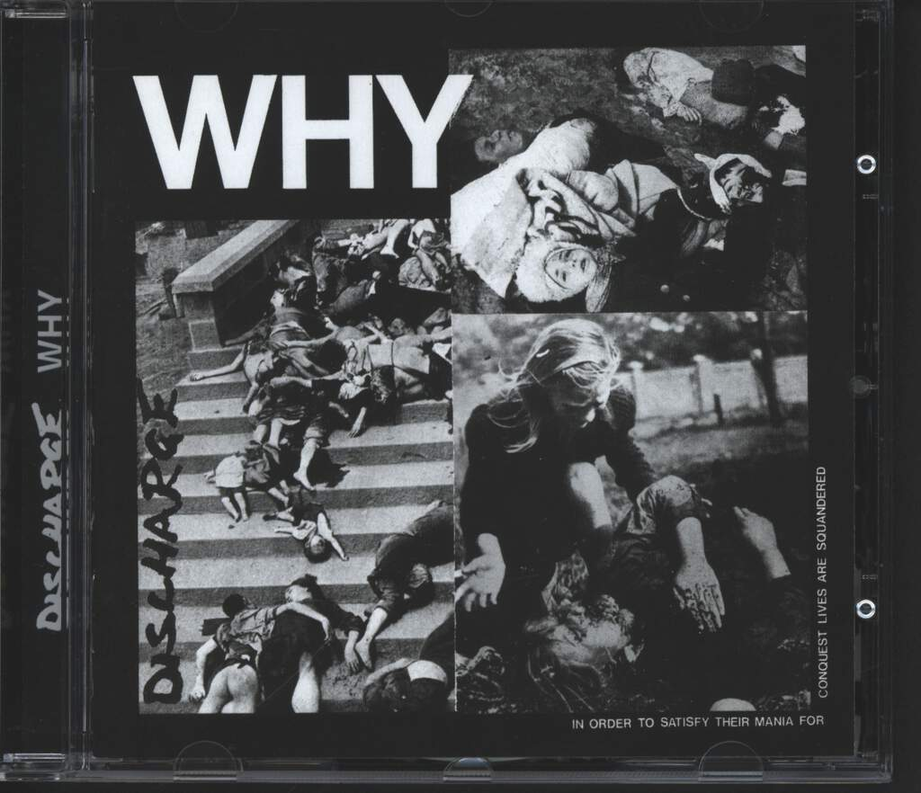 Discharge: Why, CD