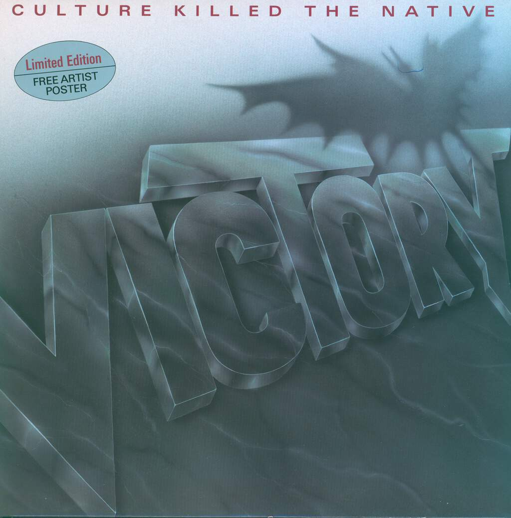 Victory: Culture Killed The Native, LP (Vinyl)