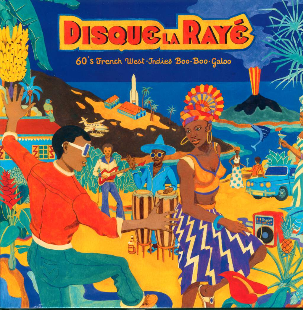 Various: Disque La Rayé - 60's French West-Indies Boo-Boo-Galoo, LP (Vinyl)