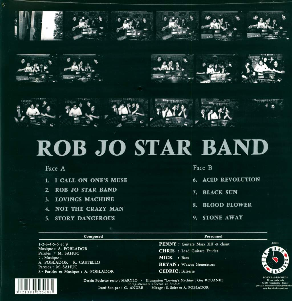 Rob Jo Star Band: Rob Jo Star Band, LP (Vinyl)
