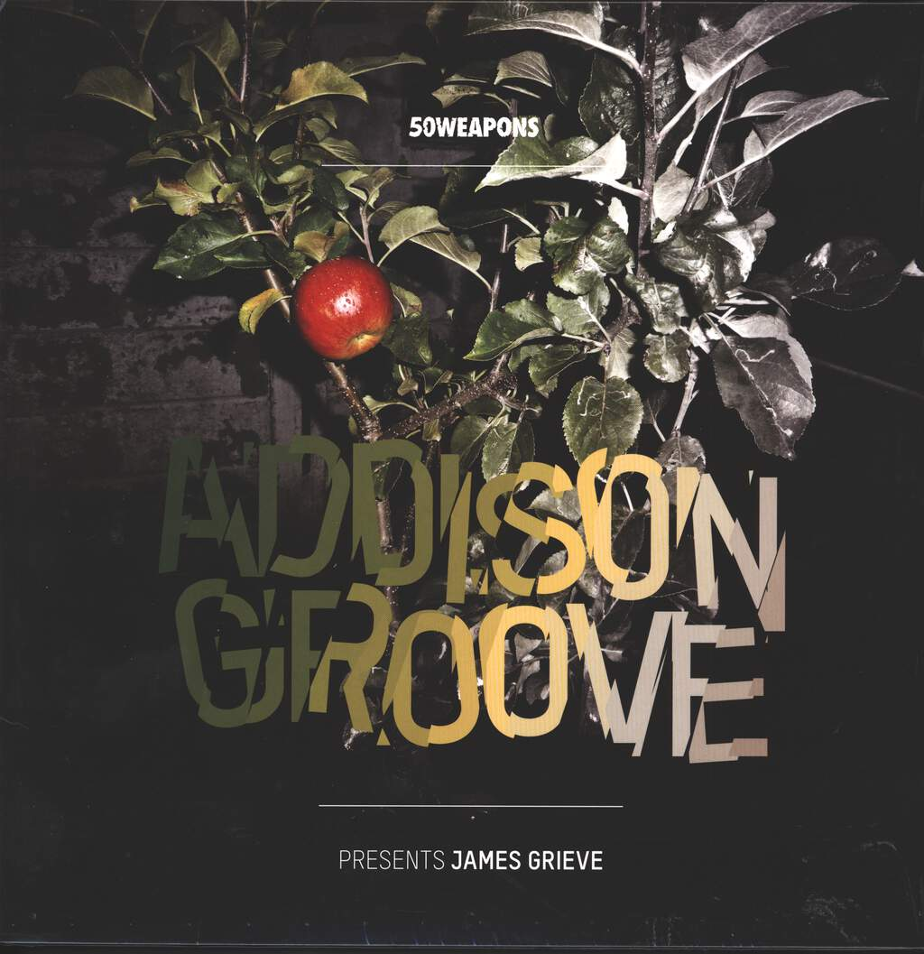 "Addison Groove: James Grieve, 2×12"" Maxi Single (Vinyl)"