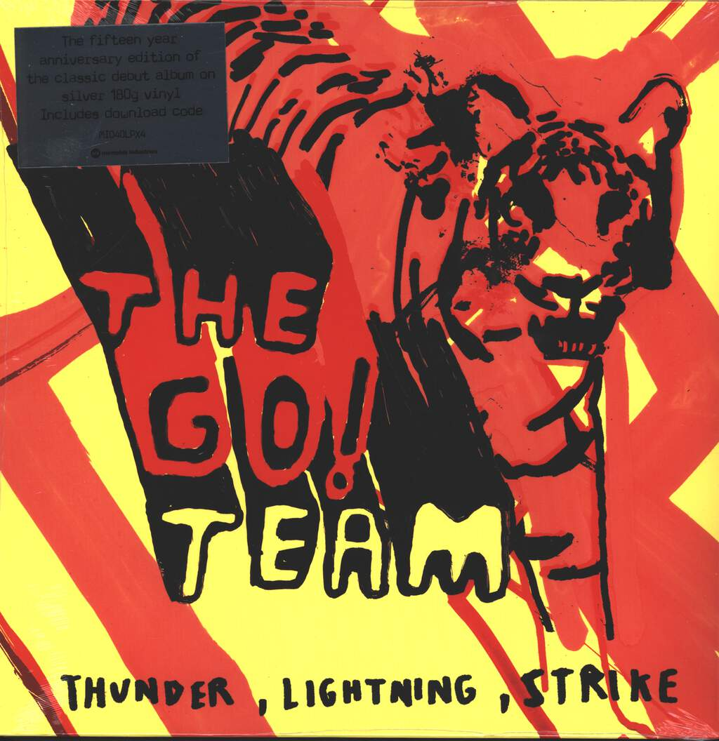 The Go! Team: Thunder, Lightning, Strike (15th Anniversary Edition), LP (Vinyl)