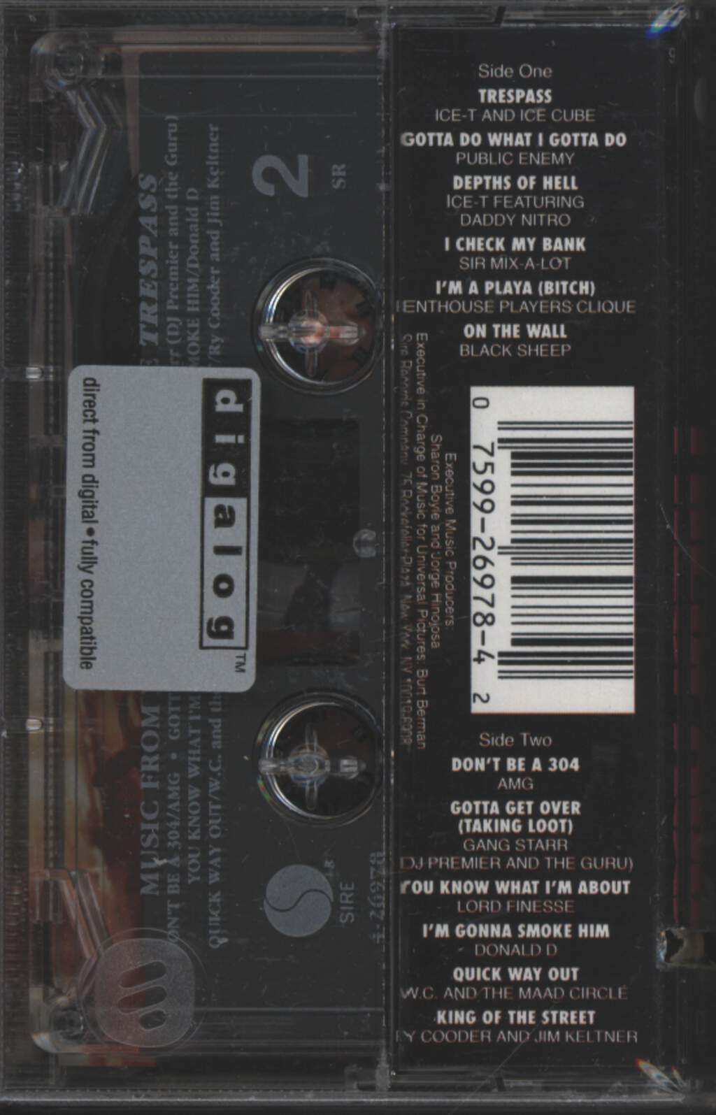 Various: Trespass (Music From The Motion Picture), Tape