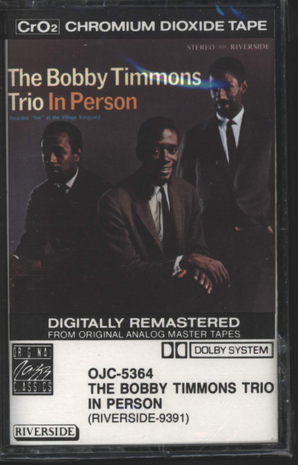 The Bobby Timmons Trio: In Person, Tape