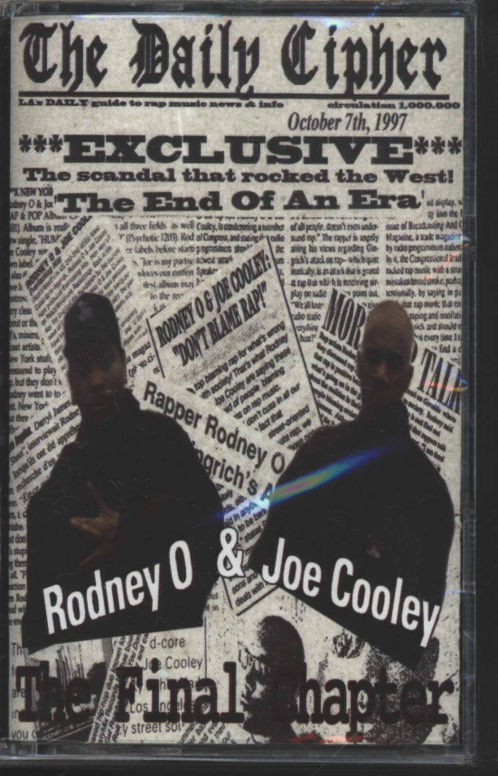 Rodney O + Joe Cooley: The Final Chapter, Tape