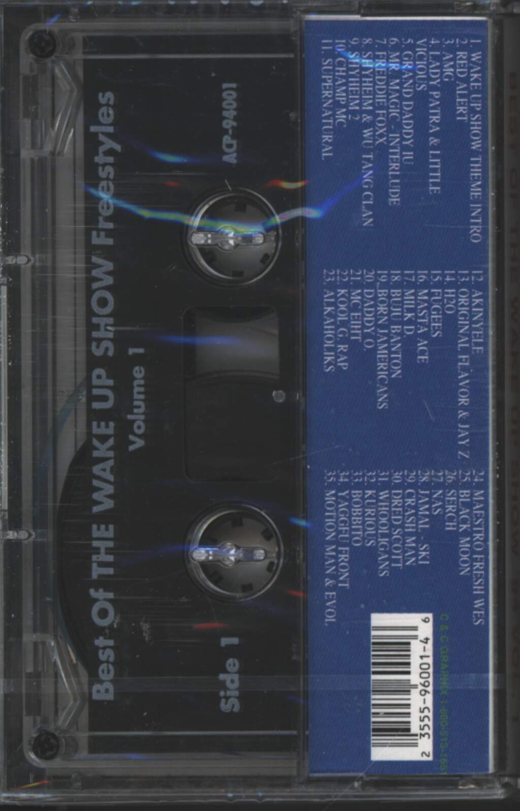 Sway & King Tech: Best Of The Wake Up Show Free Styles '94 Vol. 1, Tape